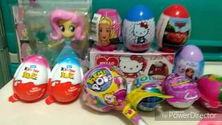 Surprise Egg, Chocolate Eggs, Pikmi Pops Surprise Egg, My Little Pony Equestria Girls Fluttershy