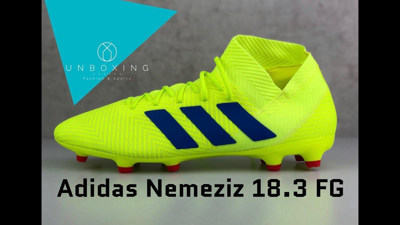 Adidas Nemeziz 18.3 FG 'Exhibit Pack' | UNBOXING & ON FEET | football boots  | 2019