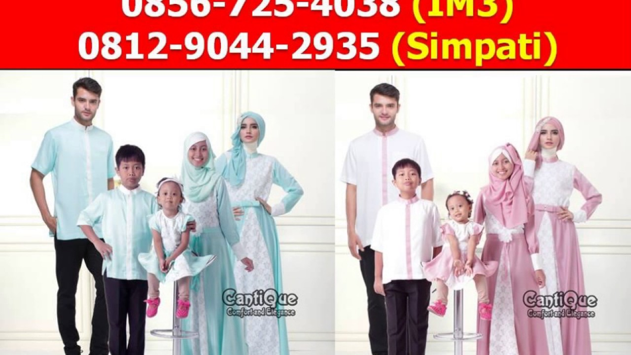 Jual Baju Muslim Keluarga Lebaran Di Garontalo Youtube