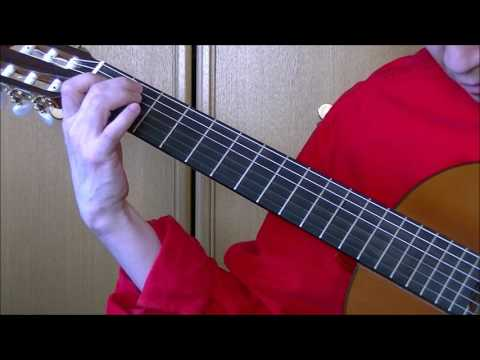 """J S Bach Gavotte en Rondeau """"Note for Note""""for left handed players"""