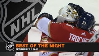 Panthers, McDavid, Rinne highlight best of the night