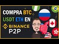 How to deposit and withdraw on Binance - YouTube