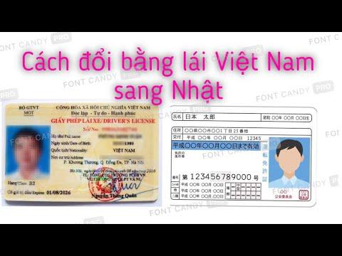 Cách đổi bằng lái Việt Nam sang bằng lái Nhật ( xe 50cc, xe 125cc, xe ô tô )