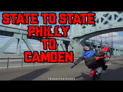 State to State: Philly to Camden (Bikelife 2017) Sony RX100V Test