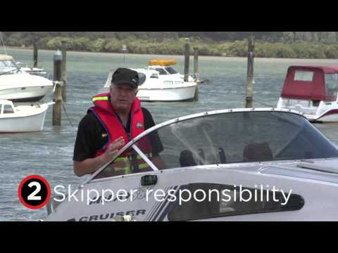 The Boating Safety Code - 5 Simple rules