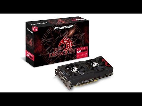 PowerColor RED DRAGON Radeon RX 570 4GB mining