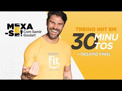 Mexa-se com Samir Goulart | HIIT em 30 minutos + desafio final