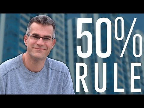 The 50% Rule to Quickly Analyze an Apartment Building Deal
