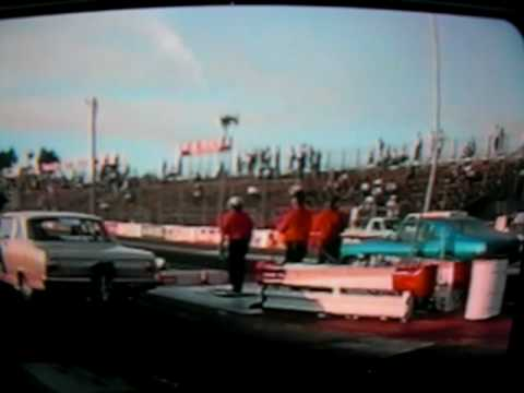 Will Pennington vs Dave Baca 1/4 finals 1992 Muscle Car Shoot Out Sonoma Ca.