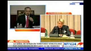¡LE DIO CON TODO! Directora de NTN24 denunció censura del régimen venezolano ante Parlamento Europeo