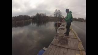 рыбалка на рыболовной базе Велинка.