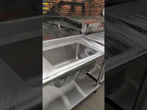 Mesón de Acero Inoxidable   Mesones de Lavado para Restaurante