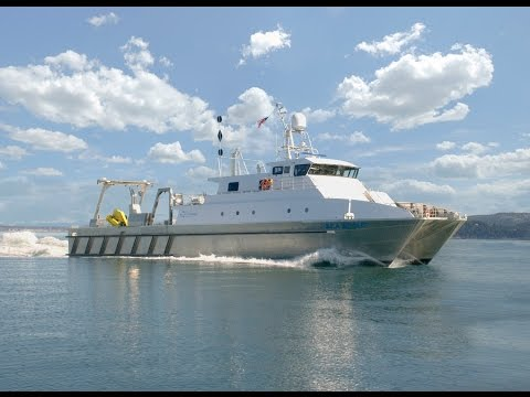 Aluminum catamaran workboat from YouTube · Duration:  4 minutes 54 seconds