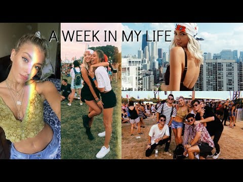 WEEK IN MY LIFE AUGUST: Music Festivals & Exploring Chicago!
