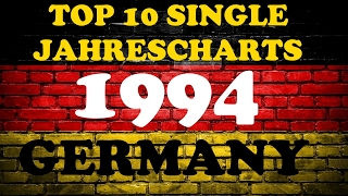 TOP 10 Single Jahrescharts Deutschland 1994 | Year-End Single Charts Germany | ChartExpress