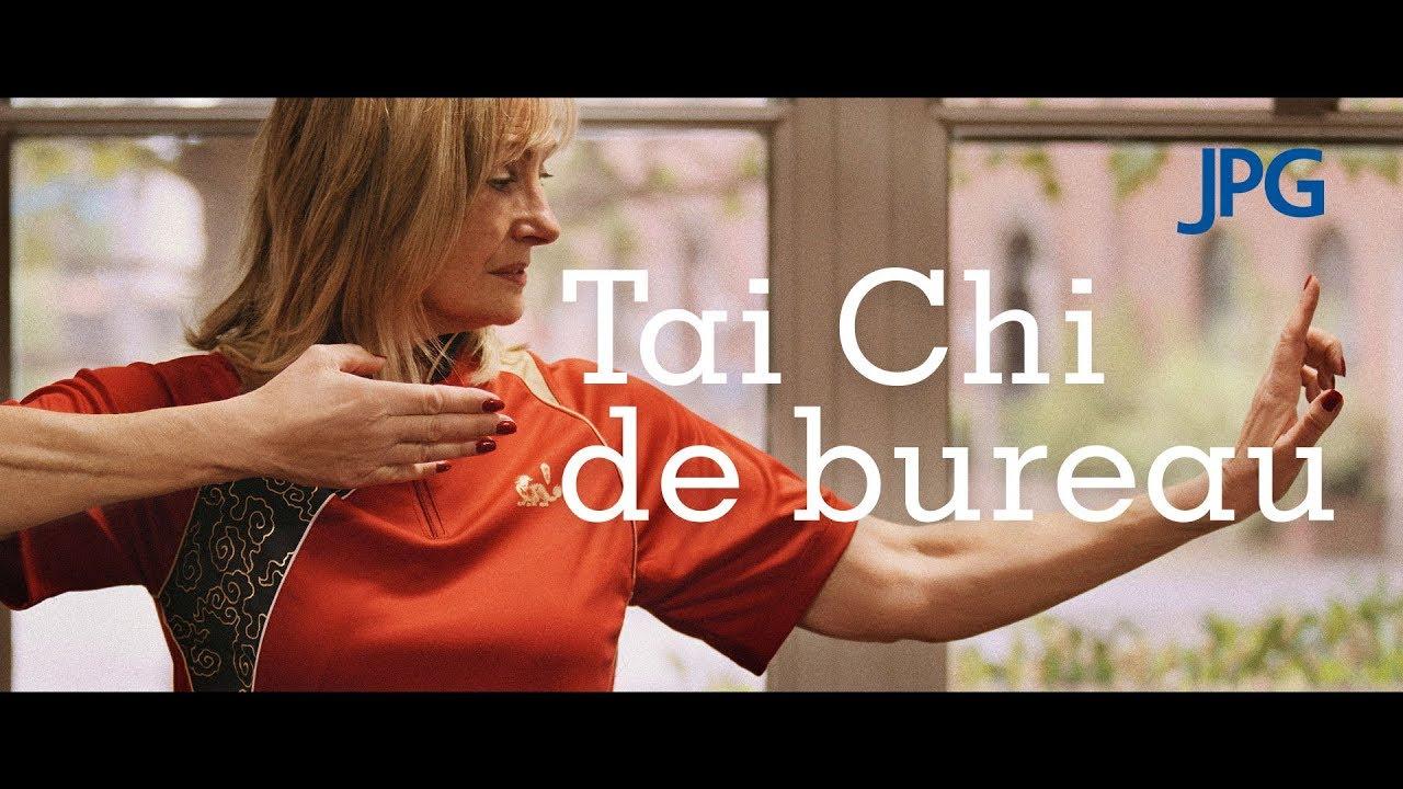 Exercices de Tai Chi au bureau JPG FR YouTube
