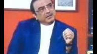 Asif Ali Zardari criticised Judiciary & Corrupt Judges Part1