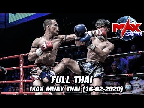 MAX MUAY THAI - วันที่ 16 Feb 2020