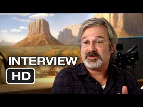 The Lone Ranger Interview - Gore Verbinski (2013) - Johnny Depp, Armie Hammer Western HD