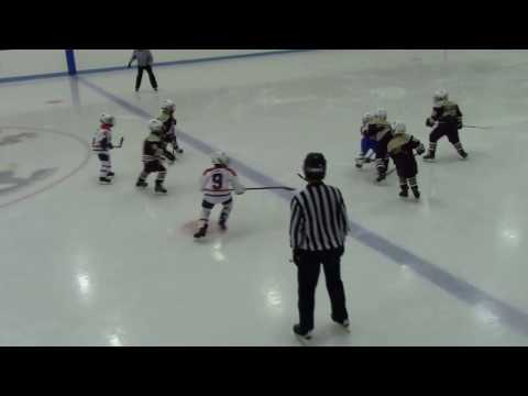 Team Boston Jr. Eagles v. WNS 2/12/2017 '09 Mite Minor