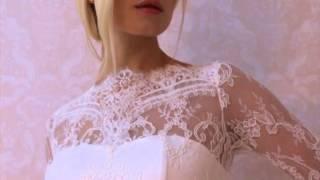 Кружевное свадебное платье М 38