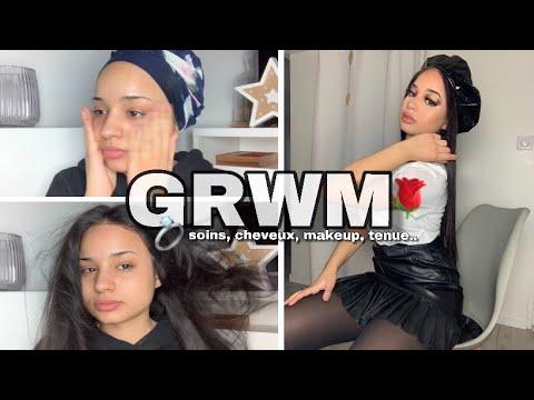 GRWM: JE ME PRÉPARE POUR UN DATE (soins, coiffure, makeup, vêtements..) ft Isee hair Aliexpress thumbnail