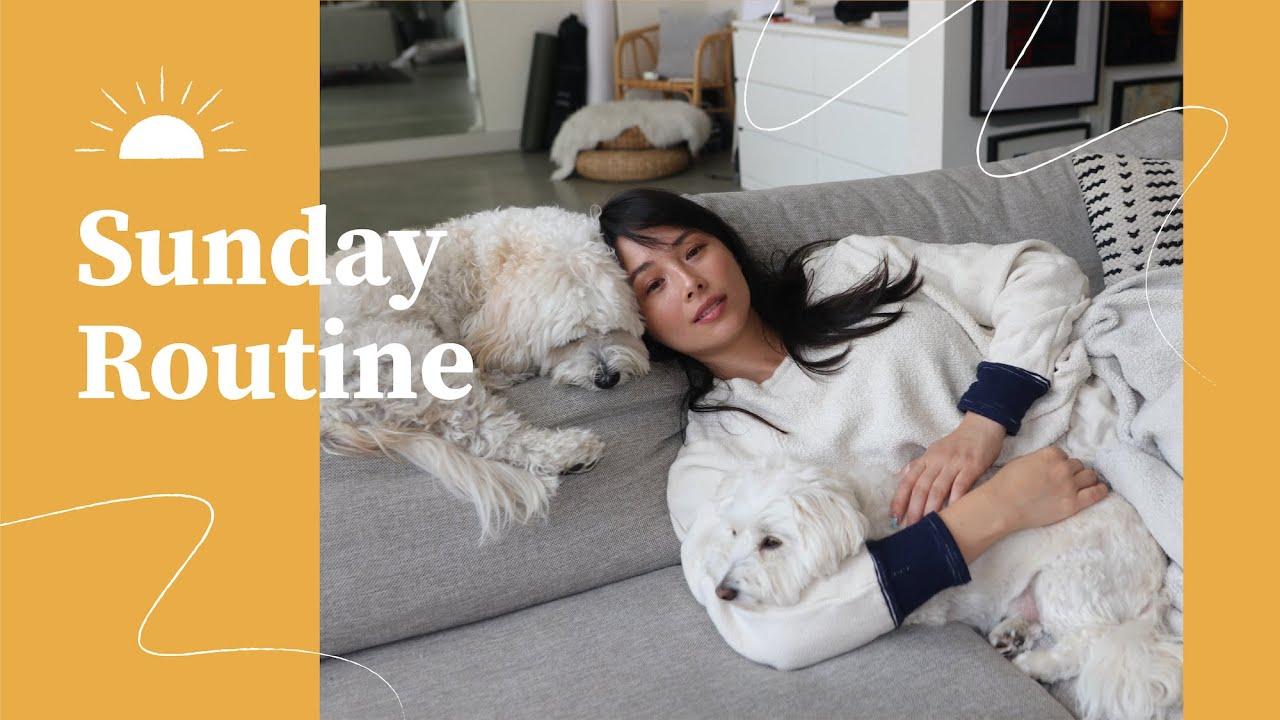 My Sunday Routine   Weekly Reset 🌱 Aja Dang