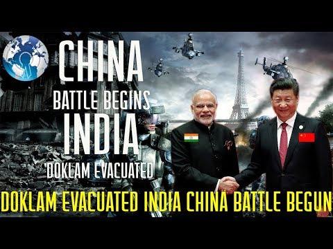 Countdown for INDIA CHINA Battle Begins Doklam Evacuated
