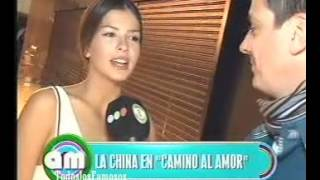 AM-China Suarez muy enamorada de David Bisbal