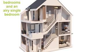 Barratt Homes Woodcote Dolls House Youtube
