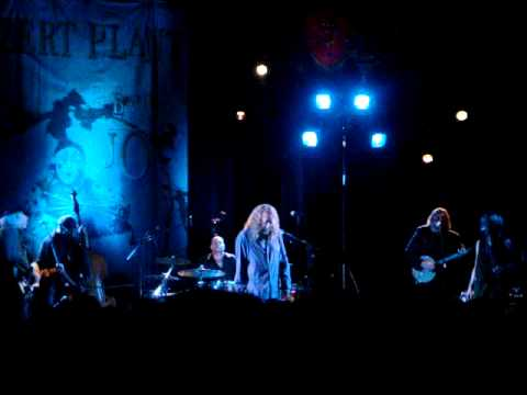 Robert Plant & The Band Of Joy - Gallows Pole live @ The Olympia Liverpool 21st October 2010