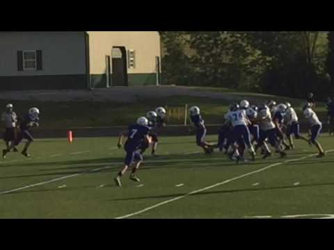 Walton Verona Middle School v.s. Tichenor Middle School Football Highlights Sept. 15, 2016
