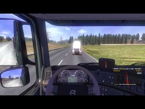 Euro Truck Simulator 2 - #14 - Strasbourg to Edinburgh - Part One