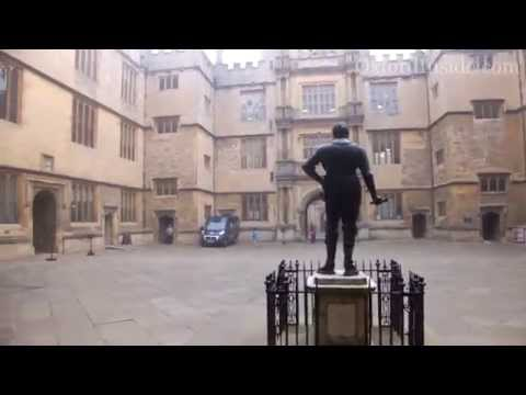 78. Библиотека Оксфордского Университета снаружи. Bodleian Libraries Oxford