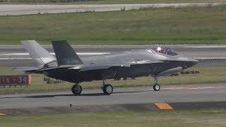 【6/13速報!!!】日本初製造 F-35 ステルス戦闘機、初飛行!!!【小牧】