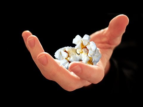 does soaking popcorn in water increase it's size?