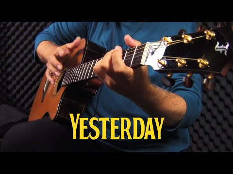 How To Impress A Girl with The Guitar – Yesterday (The Beatles) – acoustic cover