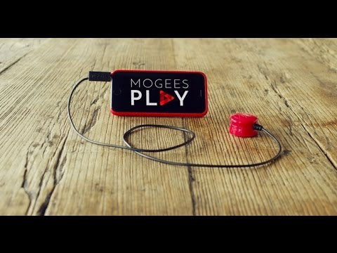 Mogees Play - a new way to make music and play games