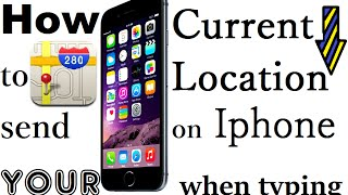 How to send your Current Location in messages on iPhone - iPhone Tips and Tricks