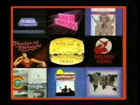 Video Classics Australia Distribution Labels Ident