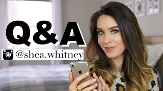 Q&A VIDEO | Family, Luxury, Makeup & more! | Shea Whitney