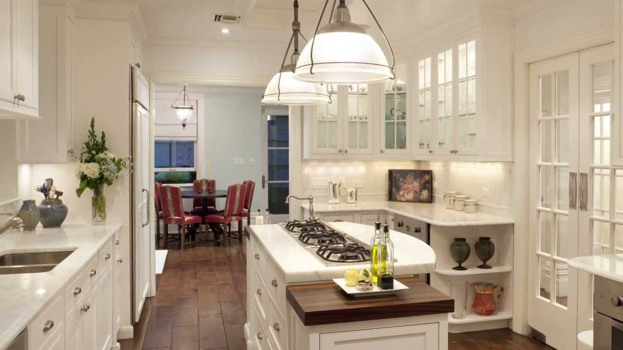 Updated Kitchen In An 1800s Manhattan Townhouse References Traditional New  York Design Details   YouTube