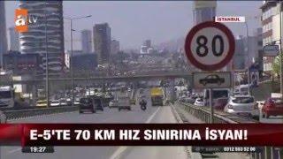 Çetin Büyükçınar - E-5 Hız Sınırı İle İlgili TV Röportajı