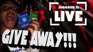 PSN/XBOX ONE CARD GIVEAWAY! Fortnite Battle Royale LIVESTREAM 600 SUBSCRIBERS Grind!