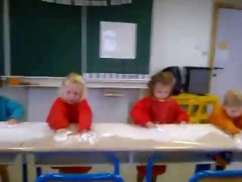 Schrijfdans 1ste kleuterklas