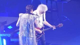Another One Bites the Dust and Radio Ga Ga - Queen + Adam Lambert at The Forum 7/20/2019