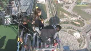 видео Прыжок с небоскреба: банджи-джампинг в Макао
