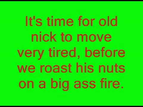 Funny Christmas Song by eminem LYRICS!!