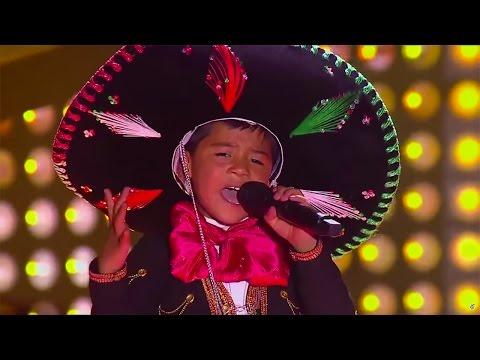 Óscar sings 'La Mochila Azul' de Belmaro Bermúdez | La Voz Kids Colombia - Audiciones a ciegas - T1