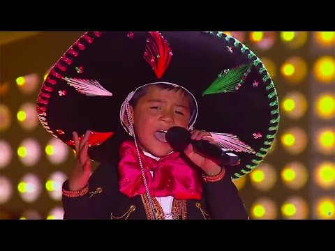 Óscar sings 'La Mochila Azul' of Belmaro Bermúdez | La Voz Kids Colombia | Blind Audition